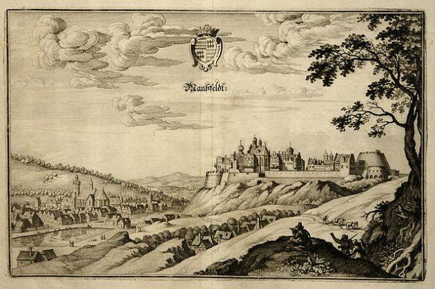 Mansfeld um 1650