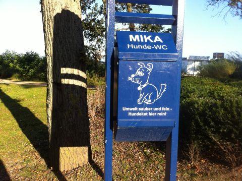 Hunde-WC Mika