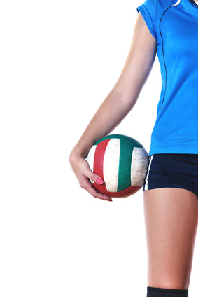 girl playing volleyball © .shock - Fotolia.com