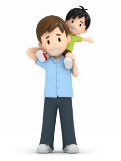 Vater und Sohn © Gouraud Studio - Fotolia.com