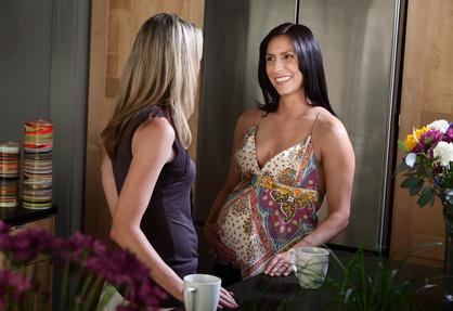 Schwangere verrät den Babynamen © Scott Griessel - Fotolia.com