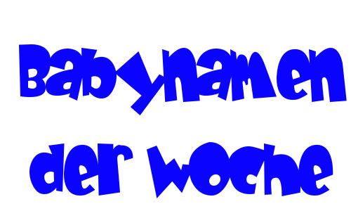 Babynamen der Woche 17/2013