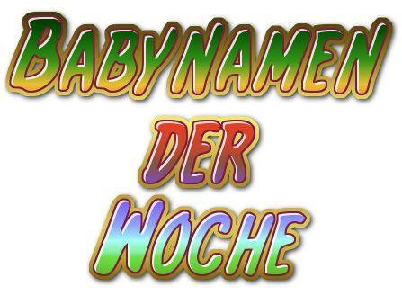 Babynamen der Woche 24/2013