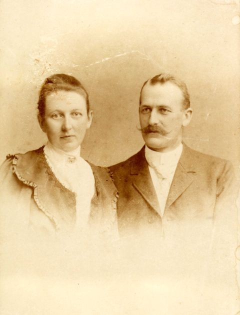 Urgroßeltern Wilhelmine und Otto