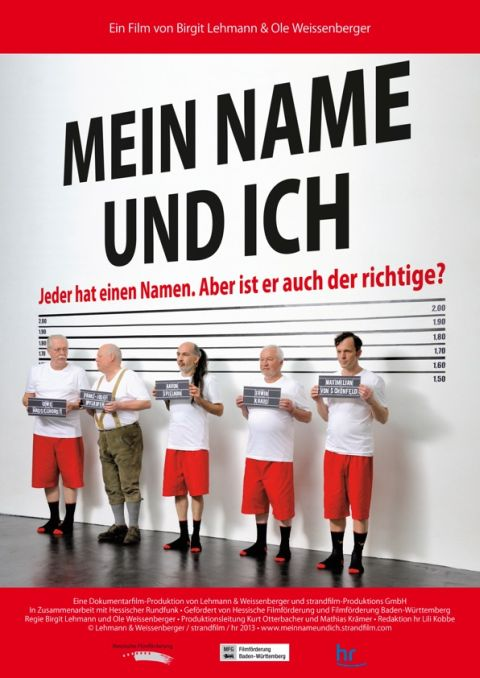 """Filmplakat """"Mein Name und Ich"""""""