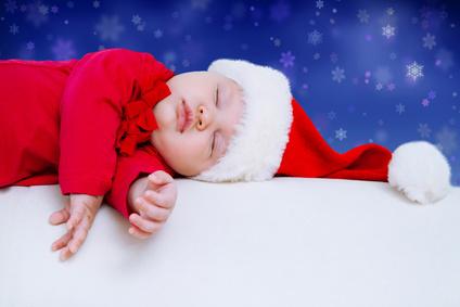 Weihnachtsbaby © yanlev - Fotolia.com