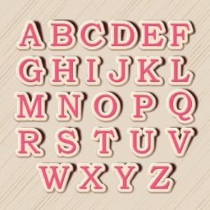 Alphabet © Abdul Qaiyoom - Fotolia.com