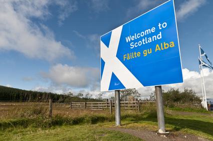 Schottland-Schild © milesgilmour - Fotolia.com