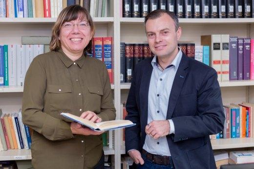 Gabriele Rodriguez und Thomas Liebecke.