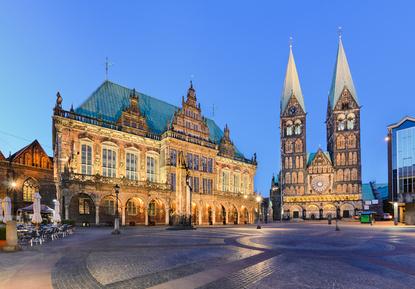 Rathaus und Dom von Bremen © Mapics – fotolia.com