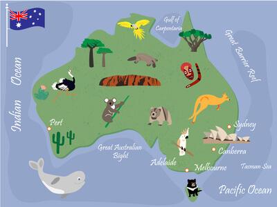 Australien © Natalia - fotolia.com