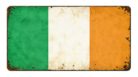 Flagge Irland © Zerbor - fotolia.com