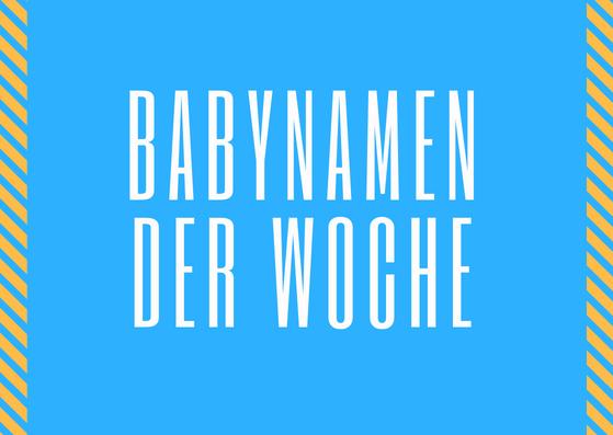 Babynamen 33