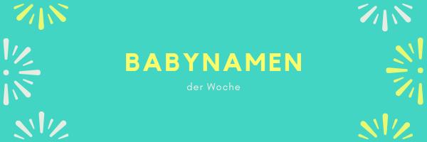 Babynamen 201852