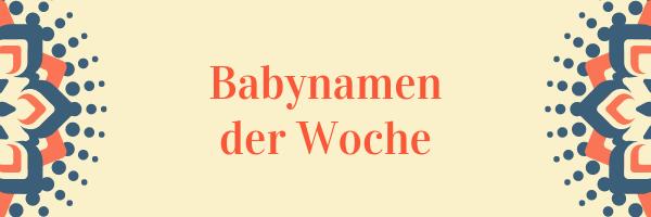 Babynamen (1)