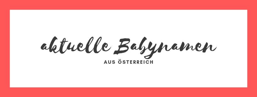 Babynamen Austria