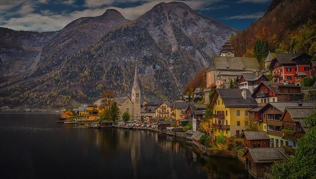 Hallstadt, Österreich