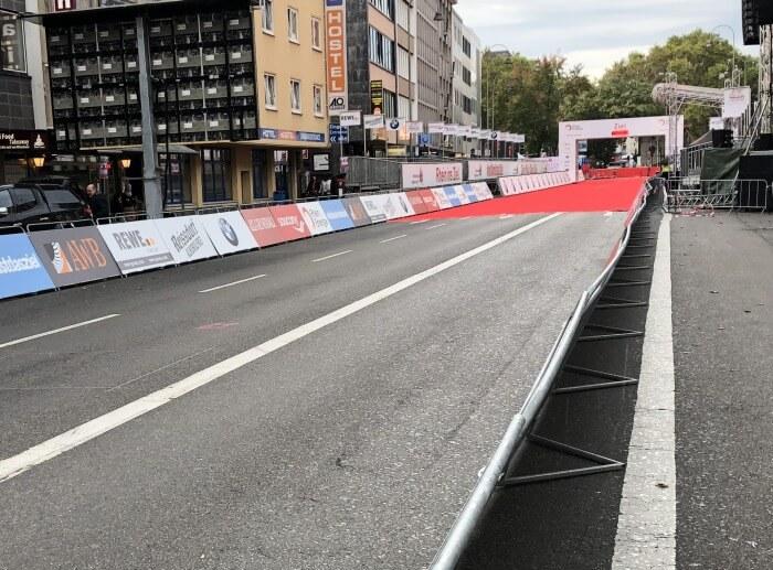 Marathon-Zieleinlauf Köln