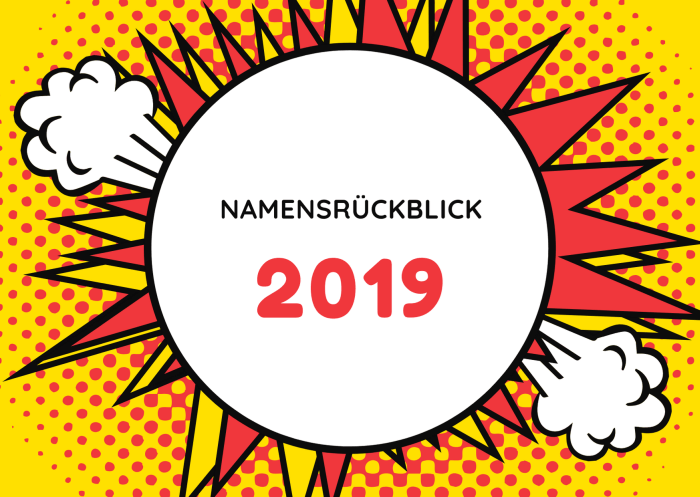 Namensrückblick 2019