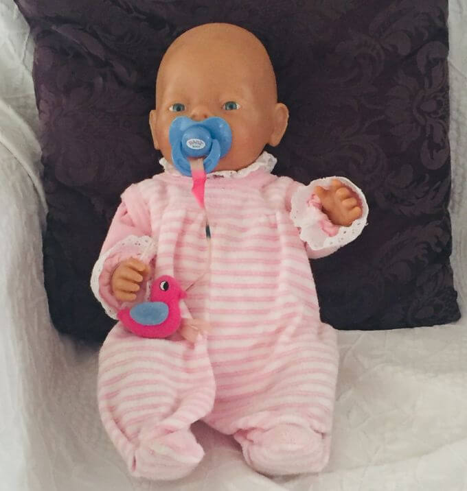 Puppe Elisabeth